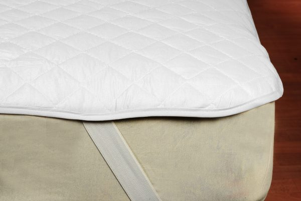 Extremo colchón con protector de colchon con elástico en la punta