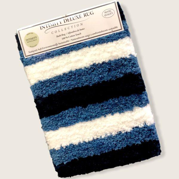 Alfombra Baño Deluxe degrade azul