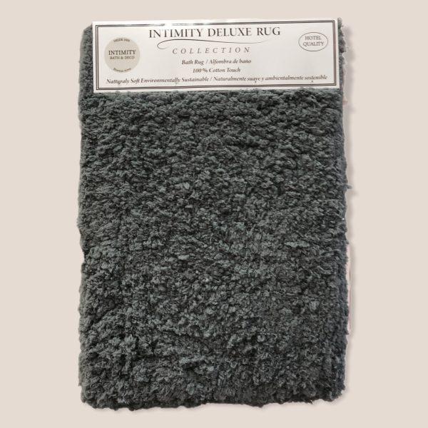 Alfombra Baño Deluxe lisa gris