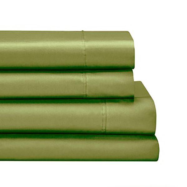 sabanas danubio dobladas color verde malva