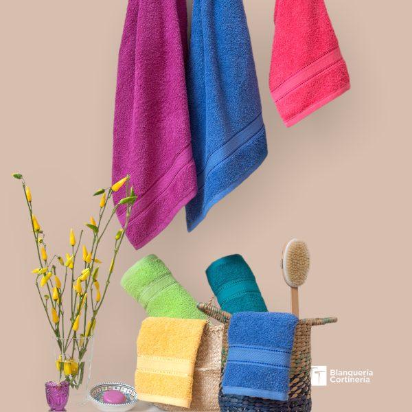 Toalla y Tollon Palette varios colores