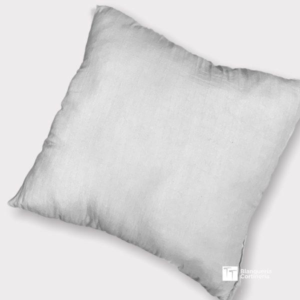 Almohadon relleno de vellon color Blanco