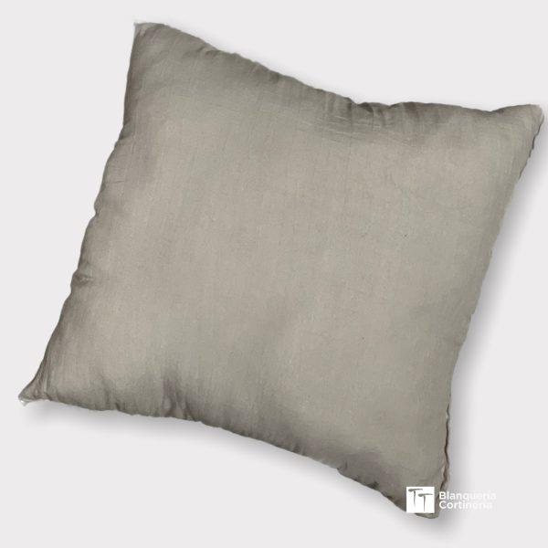 Almohadon relleno de vellon color
